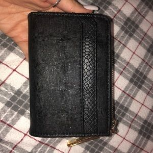Black Mini Wallet